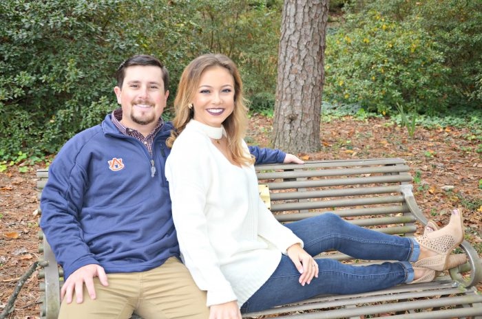 Madison and Rhett's Engagement in Emory Winship Cancer Institute