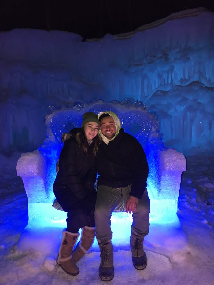 Proposal Ideas Ice Castles in Lincoln New Hampshire