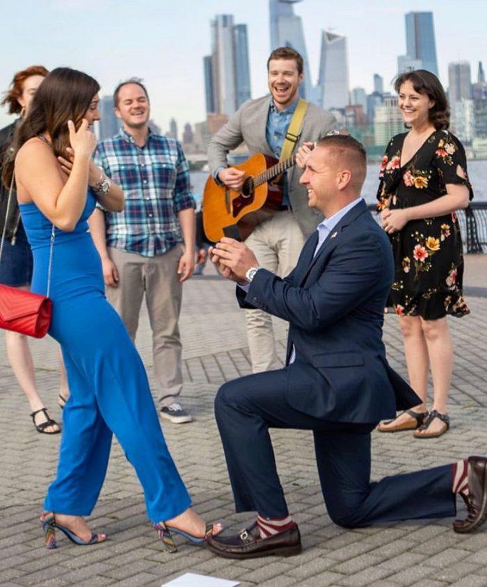 Kristina's Proposal in Hoboken, NJ