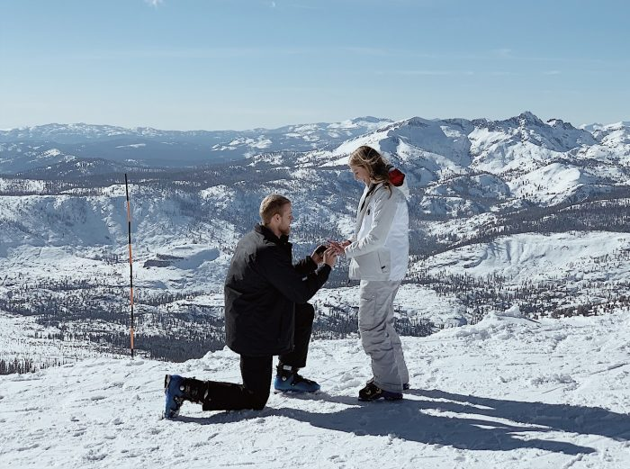 Laura and Braden's Engagement in Mammoth Mountain, CA