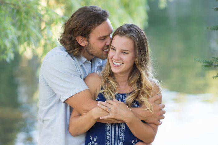 Bride's Proposal in Wisconsin