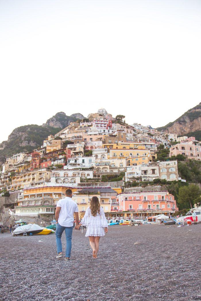 Alexa and Chris's Engagement in Positano, Italy