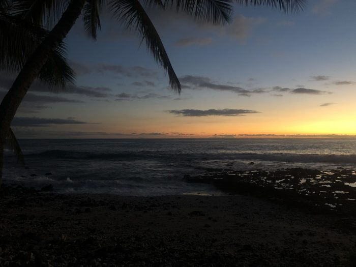 Xishel's Proposal in Pahoehoe Beach Park, Kona, Hawaii