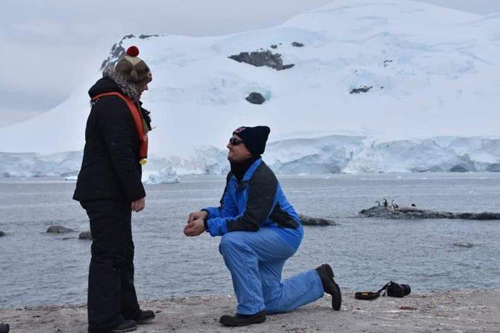Emily's Proposal in Antarctica