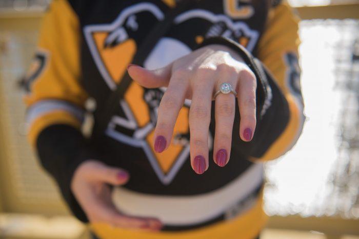 Wedding Proposal Ideas in Roberto Clemente Bridge - Pittsburgh, PA