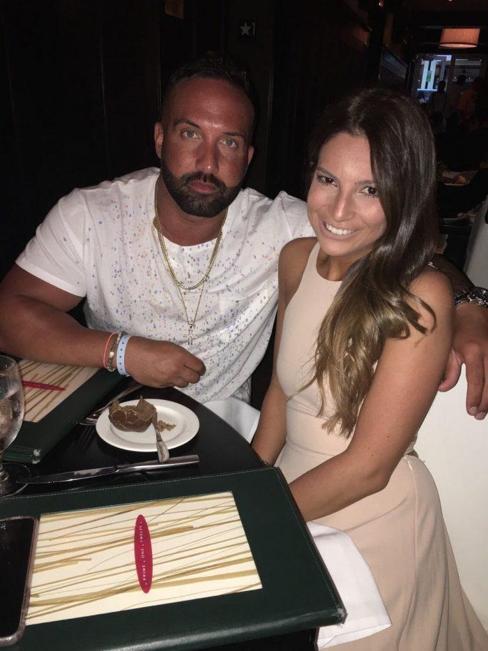 Julianna and Costadinos's Engagement in Mizumi at the Wynn Las Vegas
