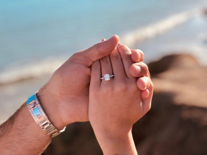 Ashley's Proposal in Malibu, California
