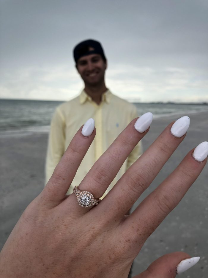Emily and Logan's Engagement in St. Pete Beach, Florida