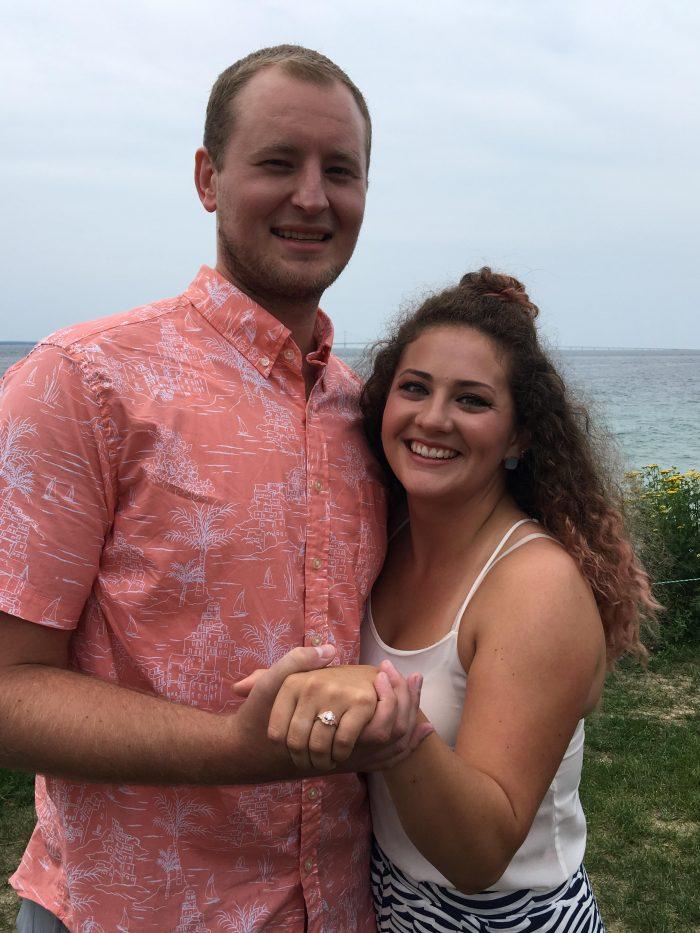 Makayla's Proposal in Mackinac Island, MI