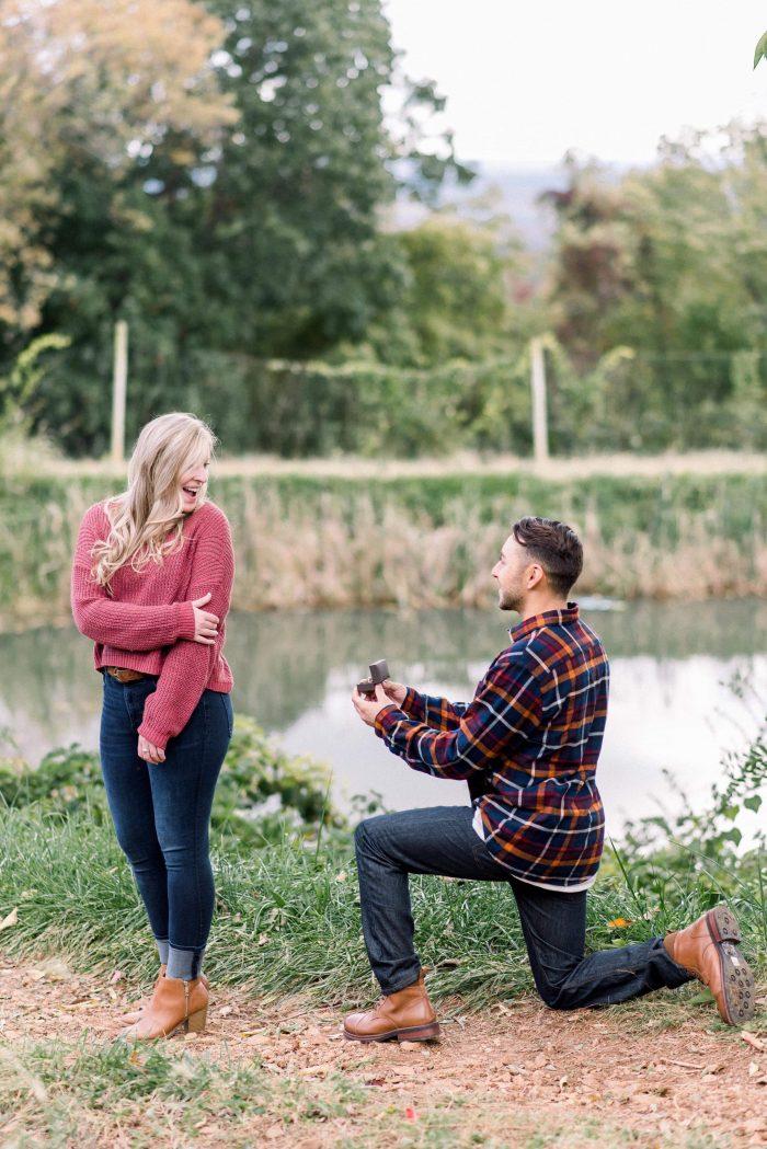 Proposal Ideas Carter Mountain Orchard in Charlottsville, VA