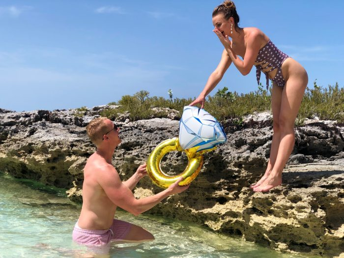 Where to Propose in Bahamas Nassau- Sandy Toes, Rose Island