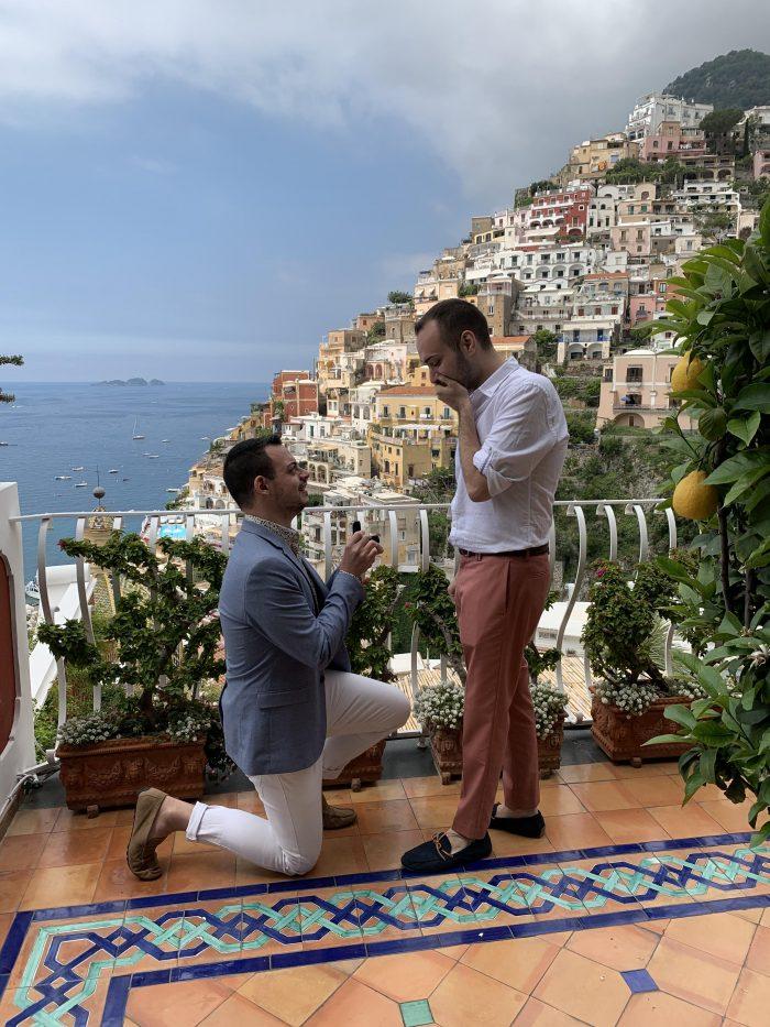 Wedding Proposal Ideas in Positano, Italy