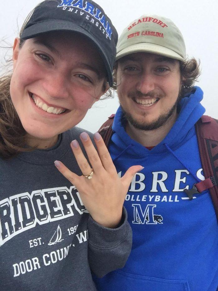 Tamera's Proposal in Grandfather Mountain, North Carolina
