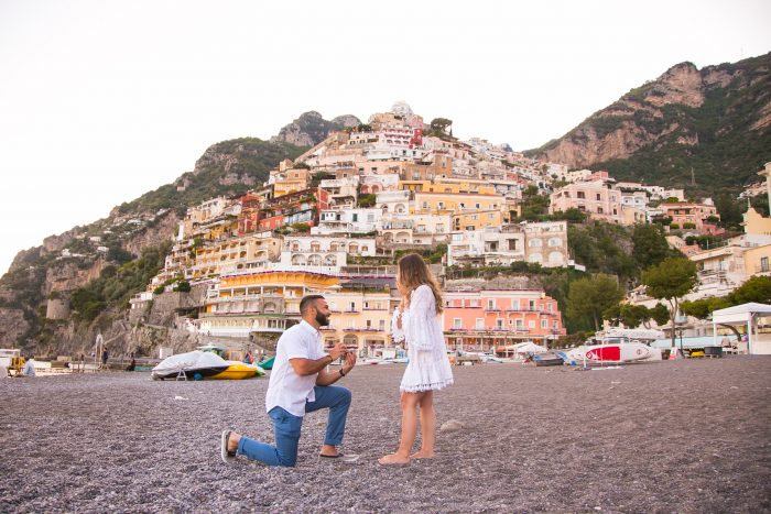 Alexa's Proposal in Positano, Italy