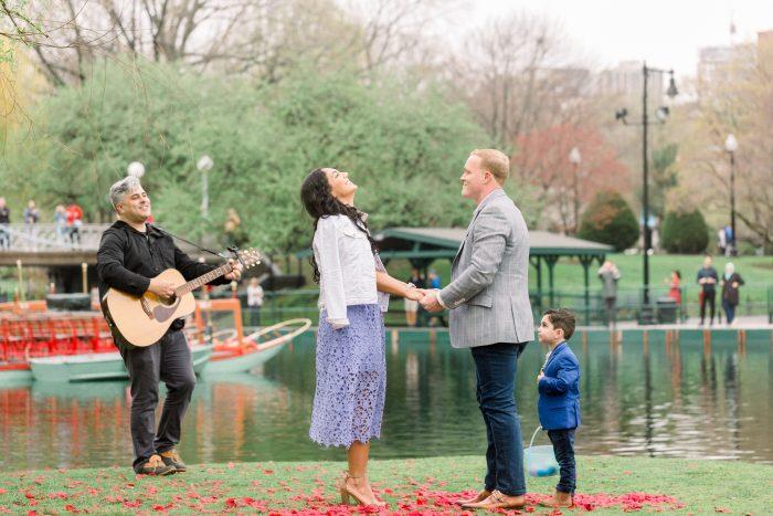 Engagement Proposal Ideas in Boston Common, Boston MA
