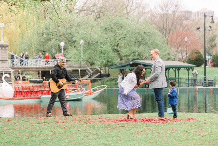 Marina's Proposal in Boston Common, Boston MA
