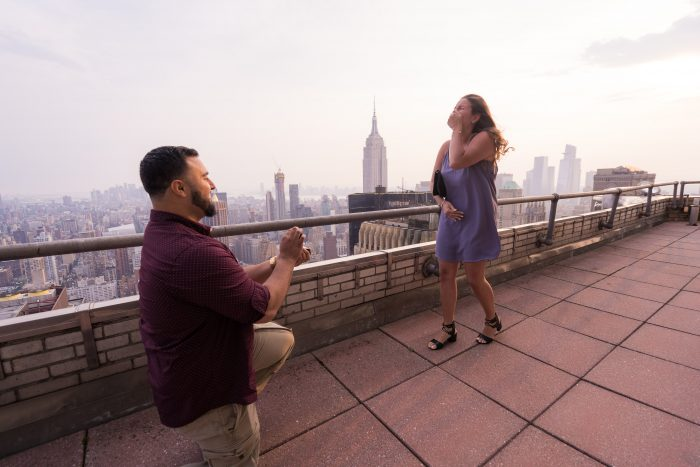 Where to Propose in NYC: The Chrysler Building