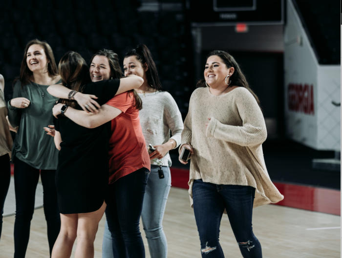 Wedding Proposal Ideas in Stegeman Coliseum at the University of Georgia