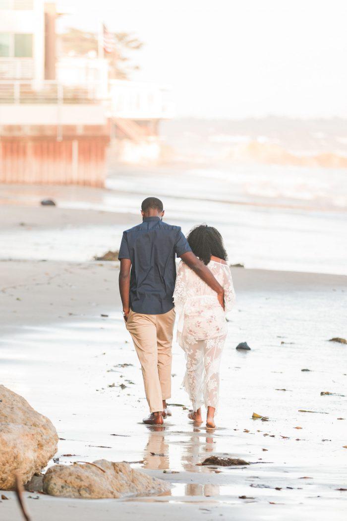 Engagement Proposal Ideas in El Matador Beach, Malibu, CA