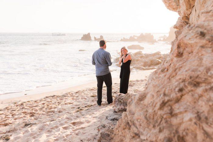 Wedding Proposal Ideas in Little Corona Beach
