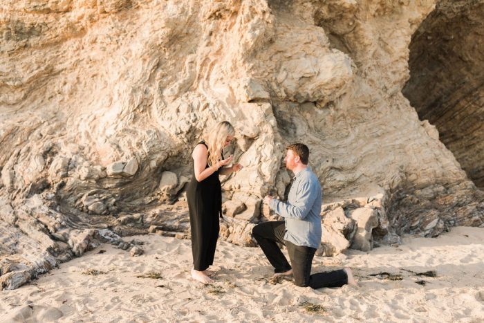 Engagement Proposal Ideas in Little Corona Beach
