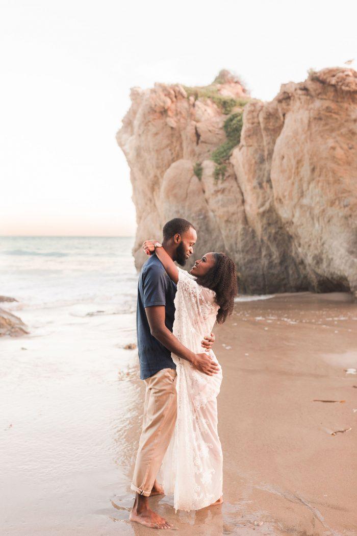 Wedding Proposal Ideas in El Matador Beach, Malibu, CA