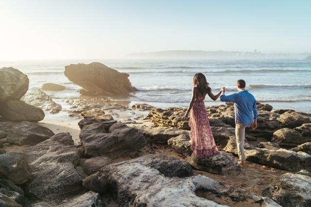 Engagement Proposal Ideas in Sydney, Australia (Curl Curl Beach)