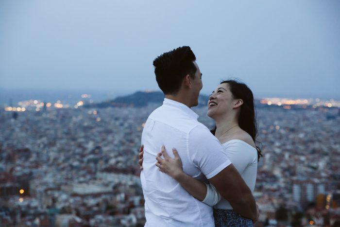 Jessica and Brian's Engagement in Barcelona