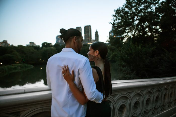 Engagement Proposal Ideas in Central Park