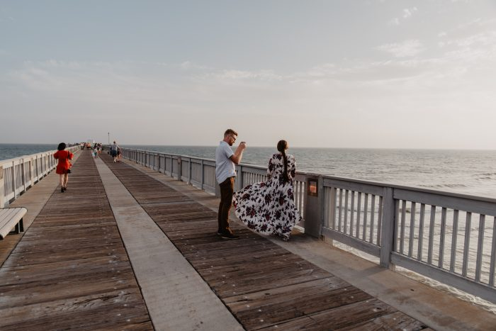 Marriage Proposal Ideas in The County Pier Panama City Beach