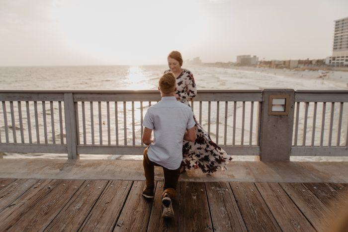 Where to Propose in The County Pier Panama City Beach