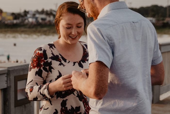Wedding Proposal Ideas in The County Pier Panama City Beach