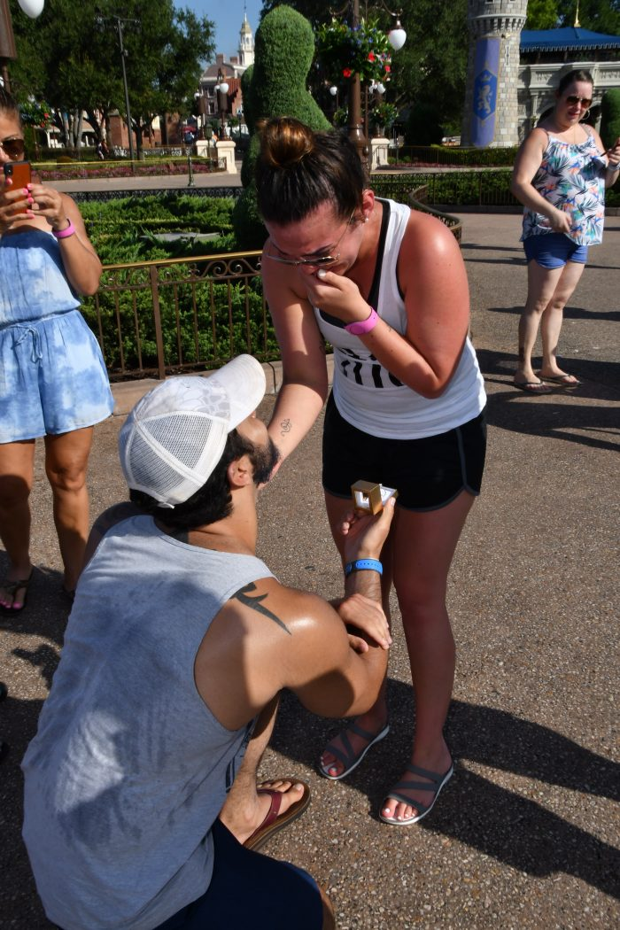 Tori's Proposal in Walt Disney World