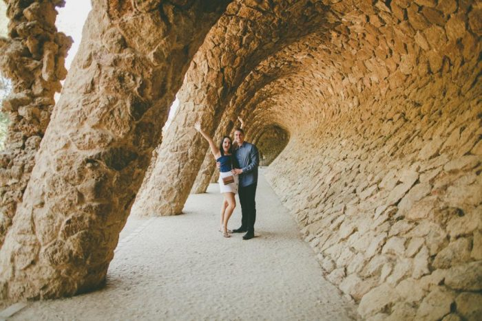 Where to Propose in Barcelona, Spain! Parc Güell