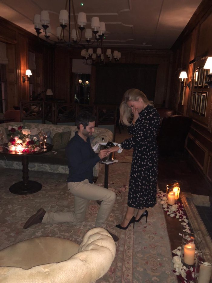 Marriage Proposal Ideas in The Four Seasons Hampshire
