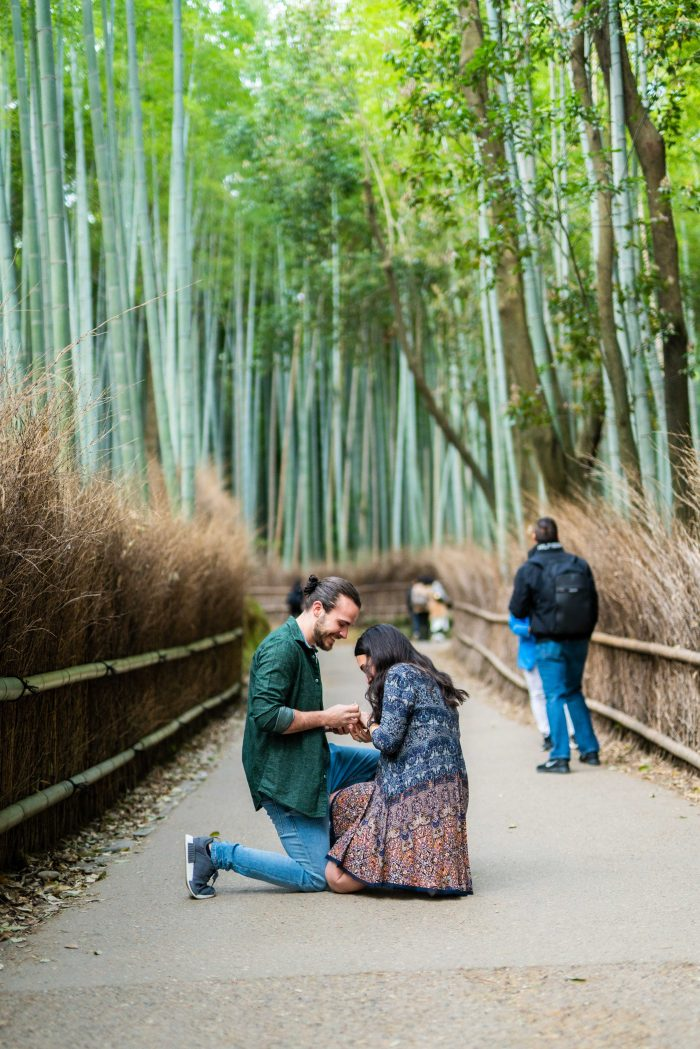 Wedding Proposal Ideas in Kyoto, Japan
