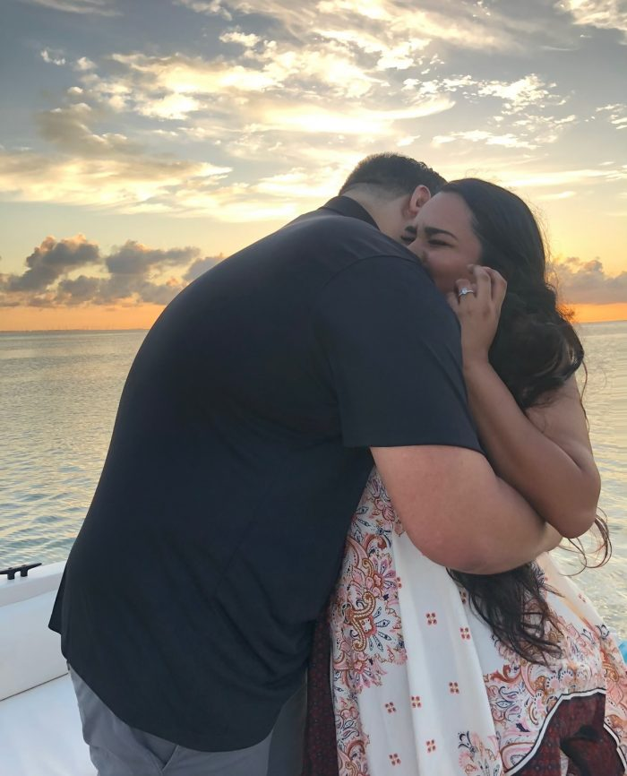Christina and Beahil's Engagement in South Padre Island
