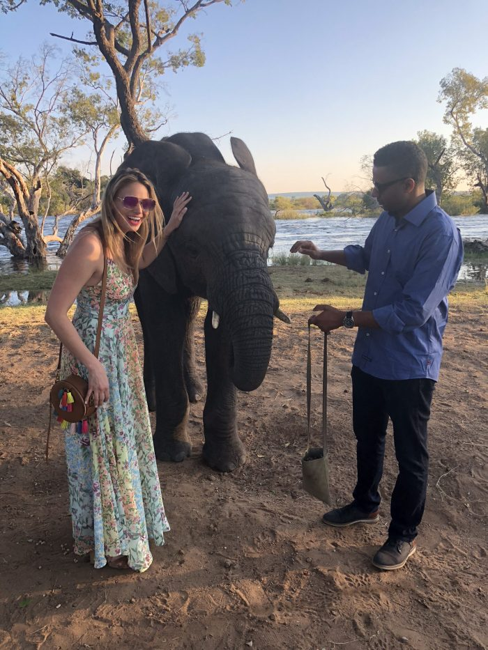 Olivia and Robert's Engagement in Victoria Falls, Zambia