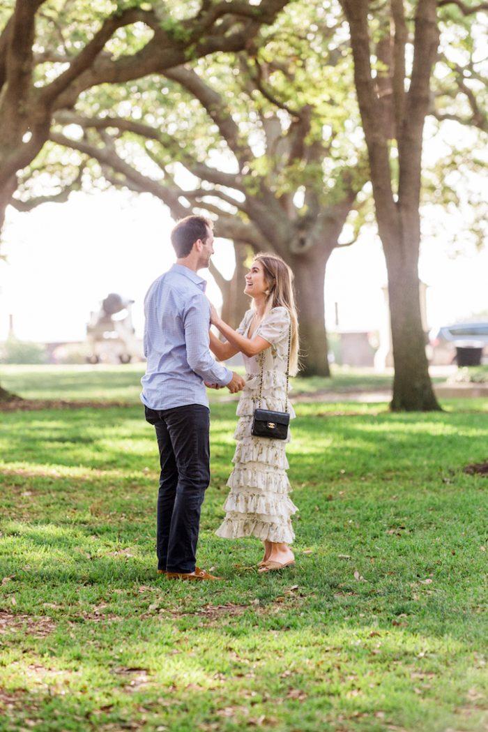 Natalie's Proposal in Charleston, South Carolina