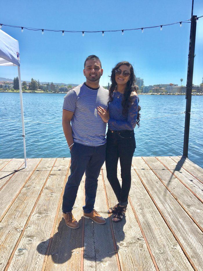 Radha and Nav's Engagement in Napa, CA