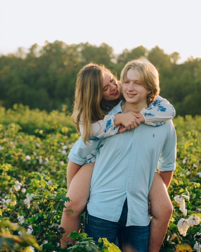 Kelly and David's Engagement in My childhood home