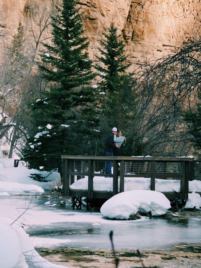 Proposal Ideas Hanging Lake Trail in Glenwood Springs Colorado