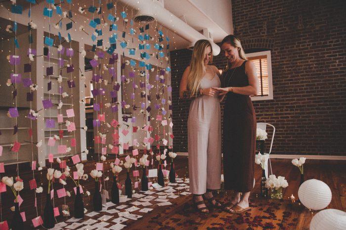 Hannah and Megan's Engagement in Washington DC
