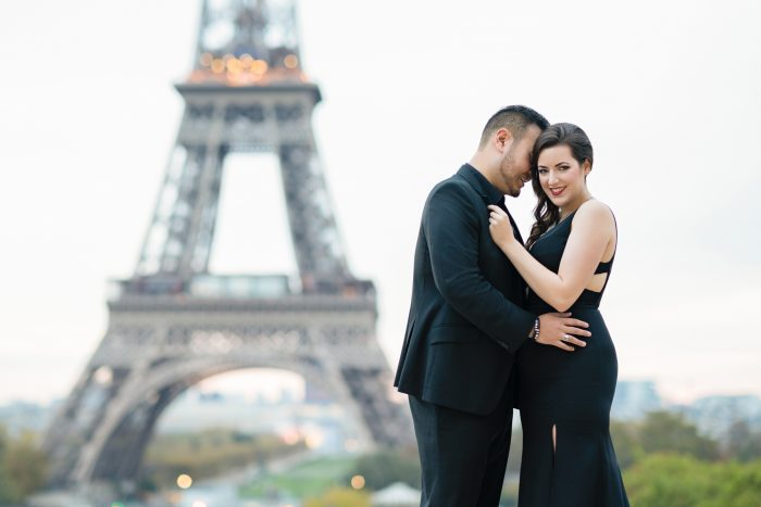 Gregory's Proposal in Paris, France