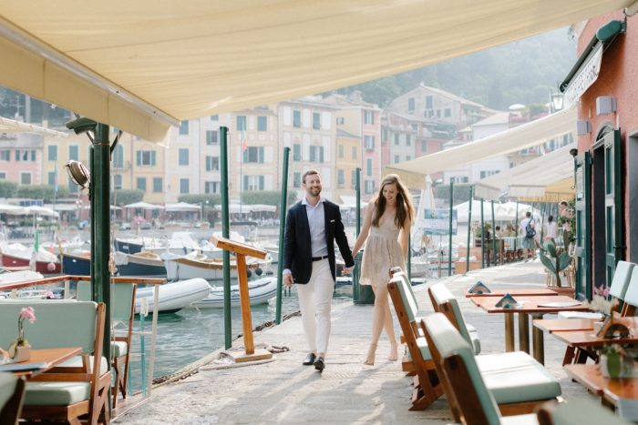 Engagement Proposal Ideas in Portofino, Italy