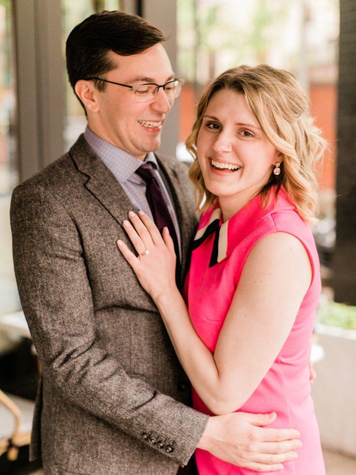 Engagement Proposal Ideas in Cafe Clover in Manhattan