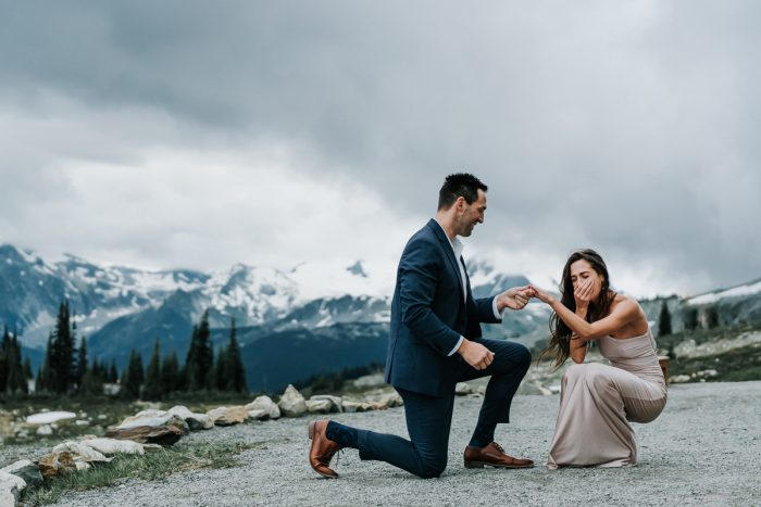 Marriage Proposal Ideas in Whistler BC