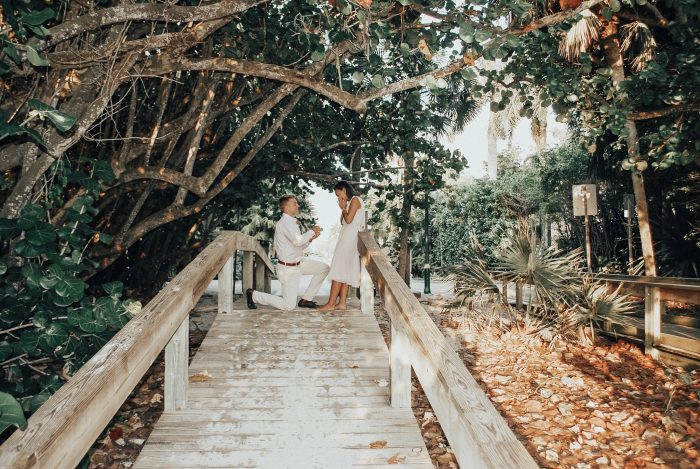 Engagement Proposal Ideas in Naples Beach, Florida