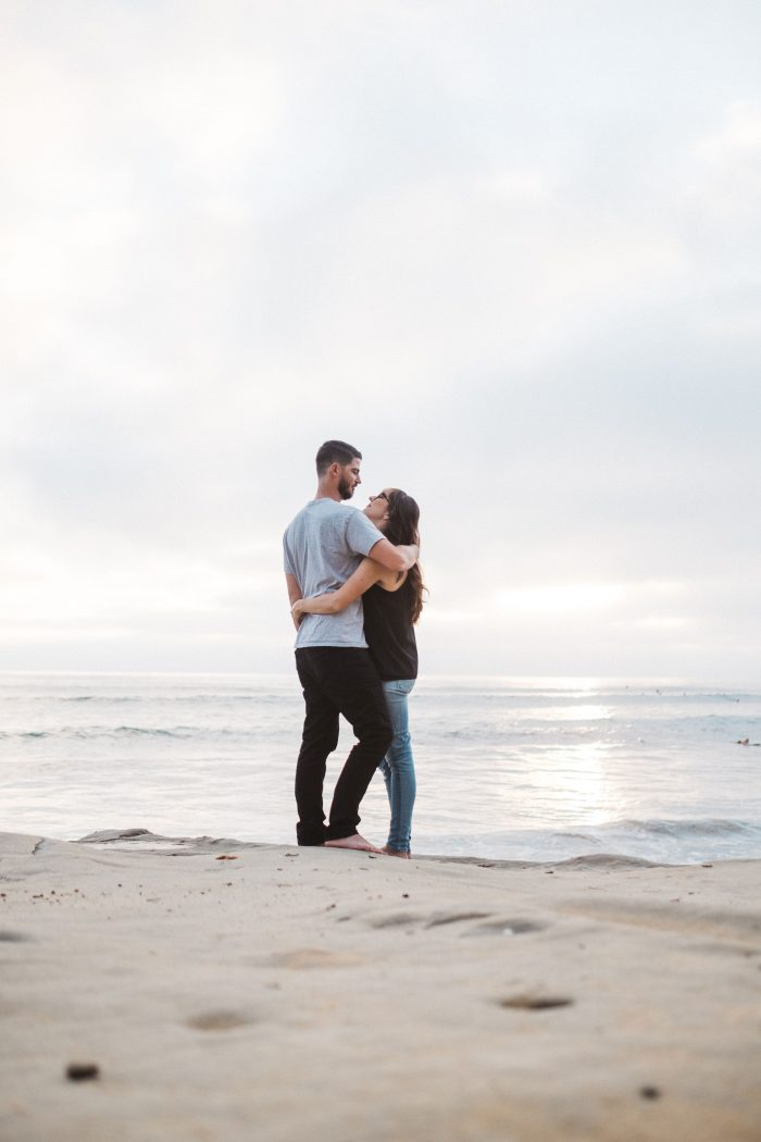 Haley and Andrew's Engagement in Carlsbad, Ca