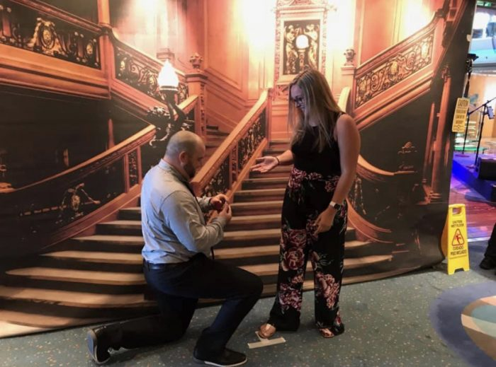 Marriage Proposal Ideas in Getting picture taken during formal night on an Alaska cruise with both of our parents